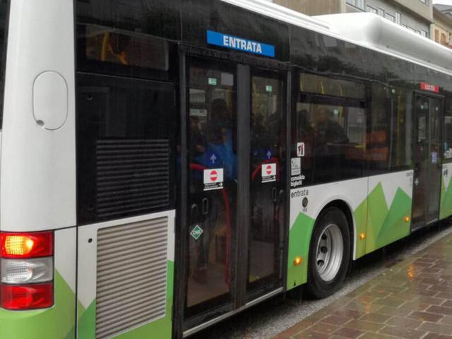 Linea 5 degli autobus urbani a Trento, la Provincia invita a utilizzare i treni della Valsugana