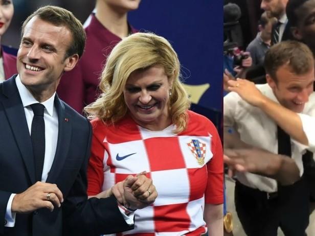 Macron consola Kitarović, poi si scatena con Pogba
