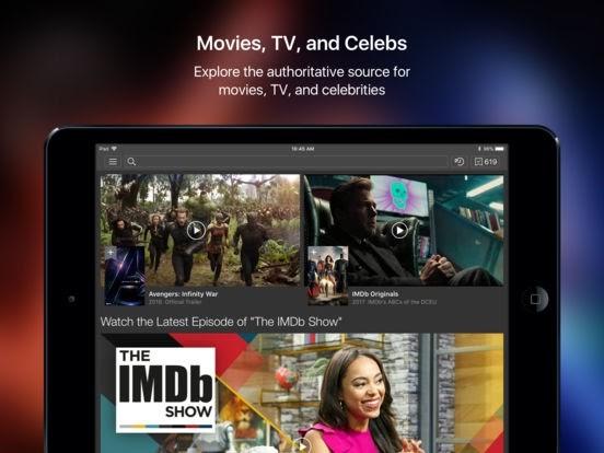 IMDb Film & TV si aggiorno alla vers 8.3.1