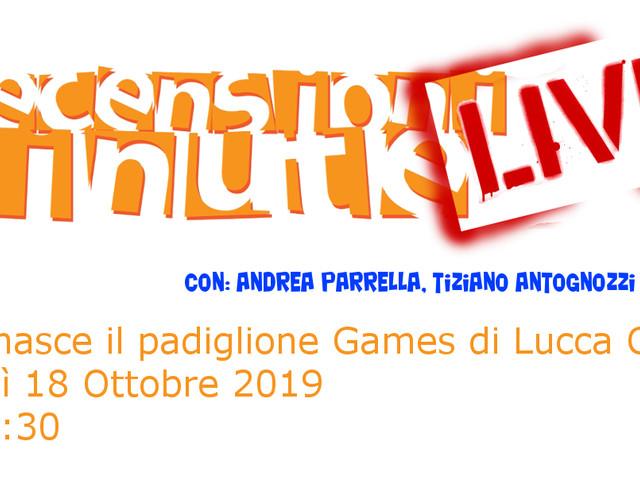 Recensioni Minute - Come nasce il padiglione games di Lucca Comics