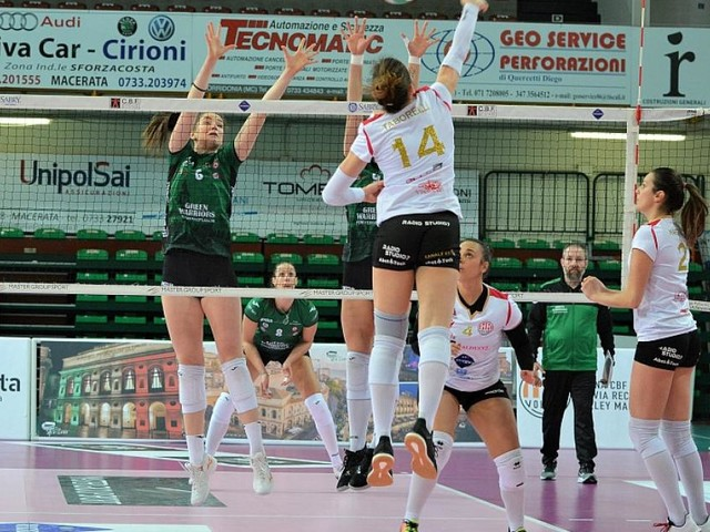 La Roana CBF batte 3-0 la Green Warriors Sassuolo