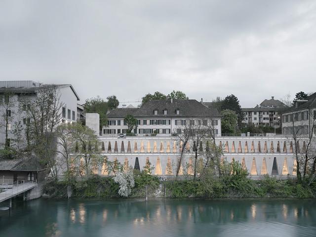 Zurigo: lo studio Barozzi Veiga completa la Tanzhaus Zürich lungo il fiume Limmat