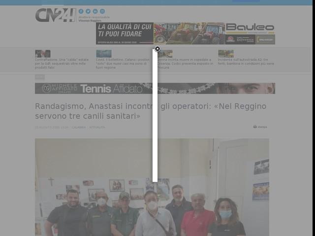 Randagismo, Anastasi incontra gli operatori: «Nel Reggino servono tre canili sanitari»