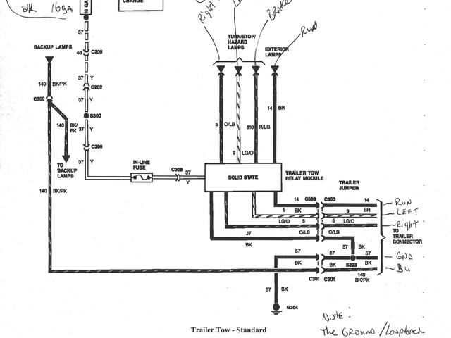 Ford Ranger Trailer Wiring Diagram