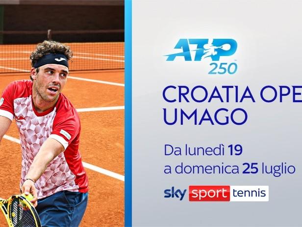Il Croatia Open LIVE su Sky. Tanti Azzurri in campo ad Umago
