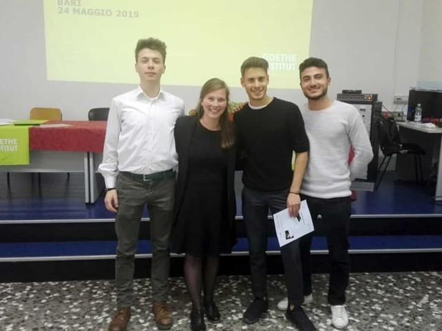 'Il lavoro dei miei sogni', gli studenti del 'Marconi-Hack' vincono il concorso nazionale del Goethe Institut