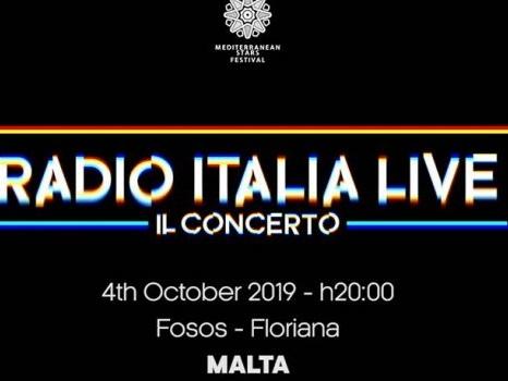 Ufficiali gli ospiti di Radio Italia Live a Malta il 4 ottobre, da Emma ed Elisa ad Alessandra Amoroso
