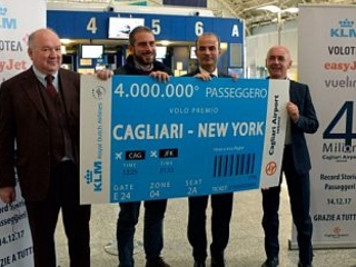 4milioni di passeggeri nell´aeroporto di Cagliari