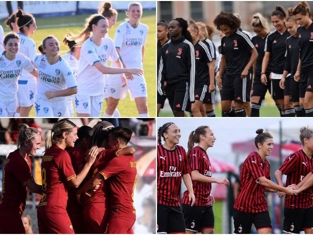 Serie A femminile al via: la guida al campionato