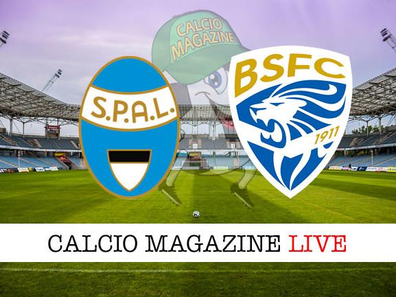 SPAL – Brescia: cronaca diretta live, risultato in tempo reale