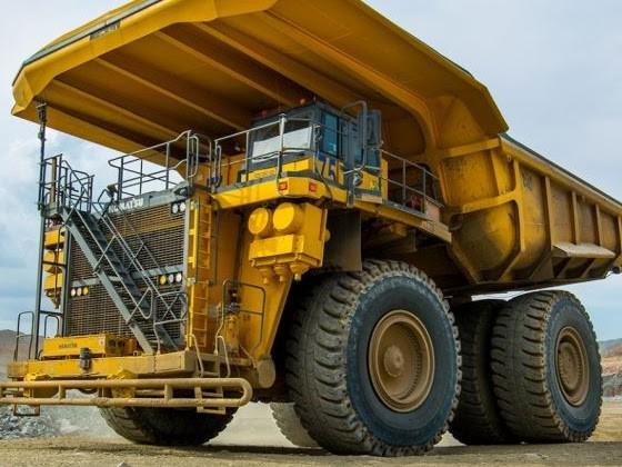 Camion elettrici da 290 tonnellate