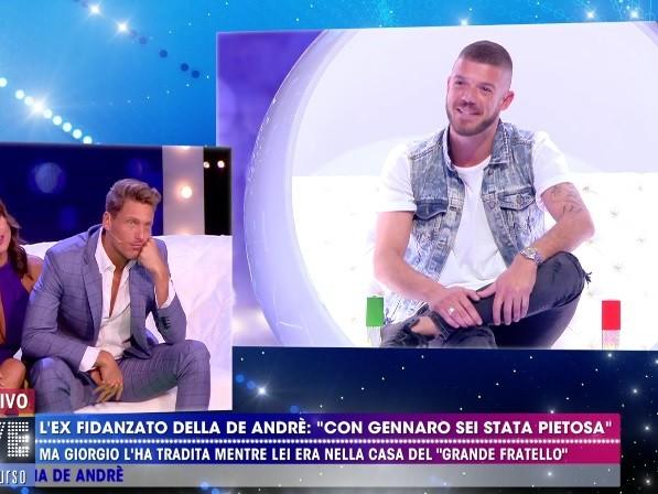 """Gennaro Lillio spiazza in radio: """"Francesca De André e il suo ex di nuovo vicini"""""""