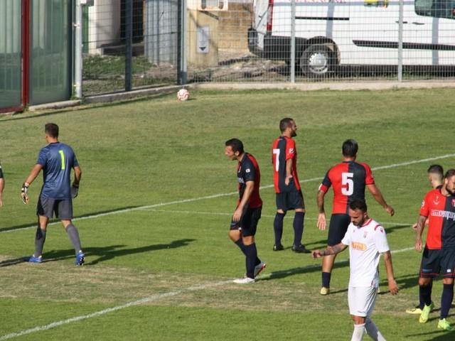 Sconfitta in terra abruzzese per la Sangiustese, contro la Vastese è 2-1