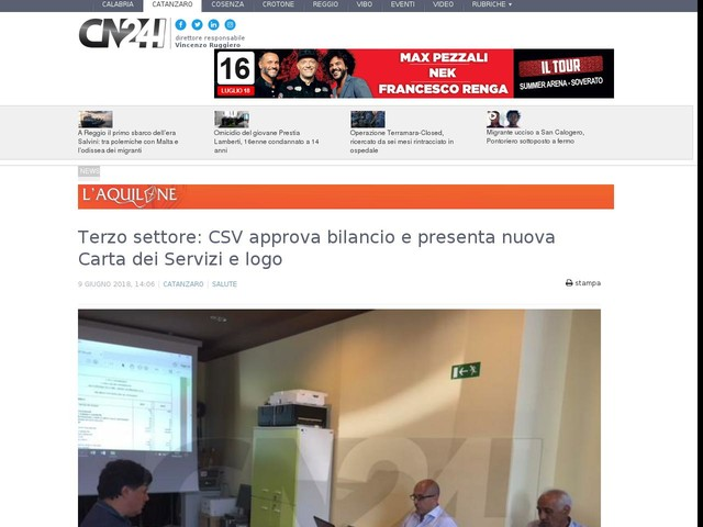 Terzo settore: CSV approva bilancio e presenta nuova Carta dei Servizi e logo