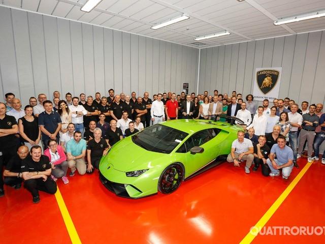 Lamborghini - Nuova camera acustica in attesa della Urus