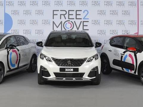PSA lancia Free2Move Lease, noleggio e app per la mobilità del futuro