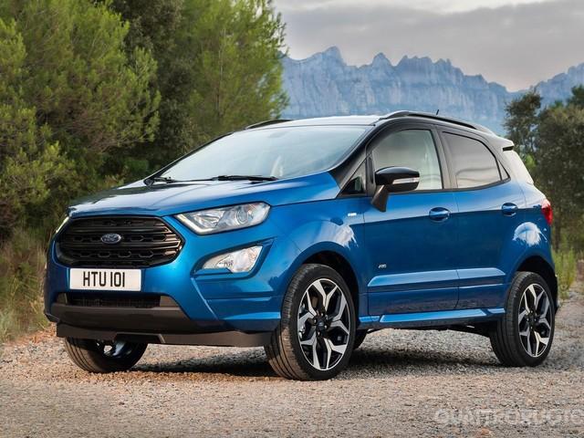 Ford Ecosport - La nuova gamma e l'inedita ST-Line