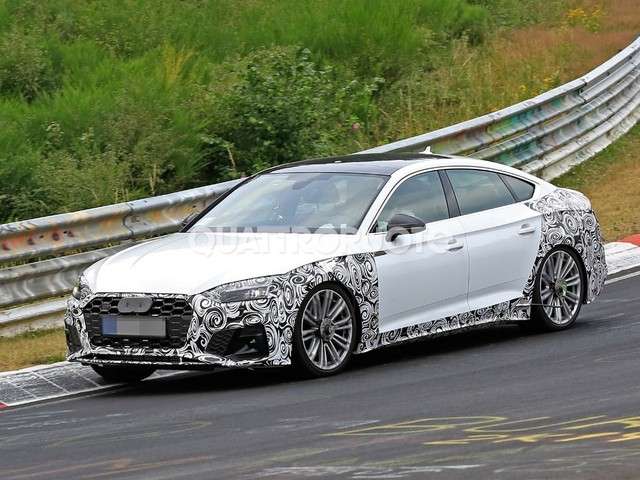 Audi - Aggiornamenti in arrivo per la S5 Sportback
