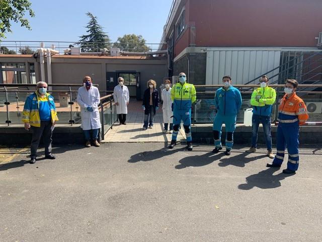 Università: consegnata prima fornitura di igienizzante alle Misericordie