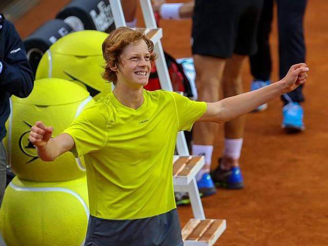 Tennis: è Jannik Sinner la star italiana del torneo NextGen di Milano