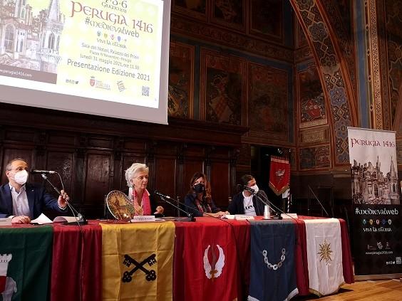 Perugia1416, il programma: le sfide e gli eventi online e in presenza