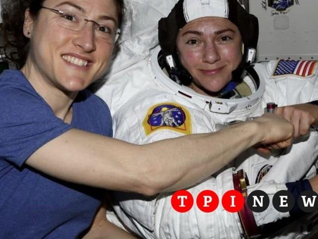 Il 18 ottobre la prima passeggiata di sole donne nello spazio