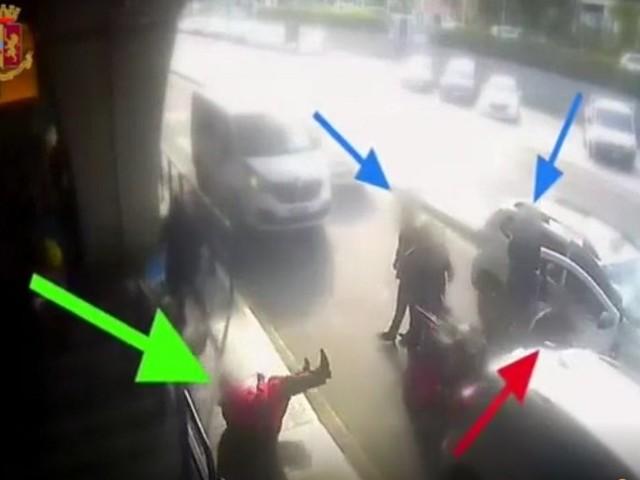 Chiede applicazione tassametro, tassista gli sferra pugno. Individuato dalla Polizia di Frontiera dello scalo Fiumicino.