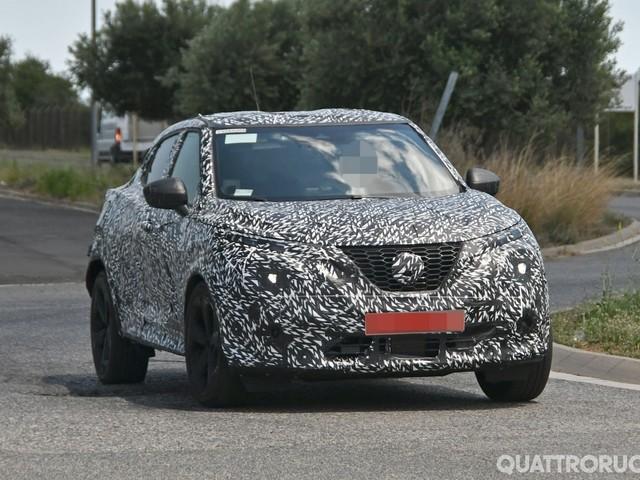 Nissan - Avvistata su strada la nuova Juke
