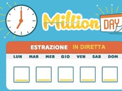 Estrazione Million Day di oggi 18 marzo 2019: numeri vincenti