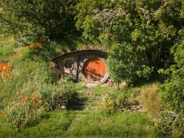 Le piccole case degli Hobbit nei dintorni di Calgary