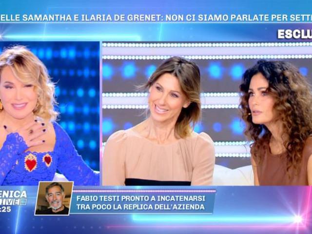 """Samantha De Grenet contro Stefania Orlando? La verità dalla d'Urso: """"So chi è, mai detto quelle cose"""""""