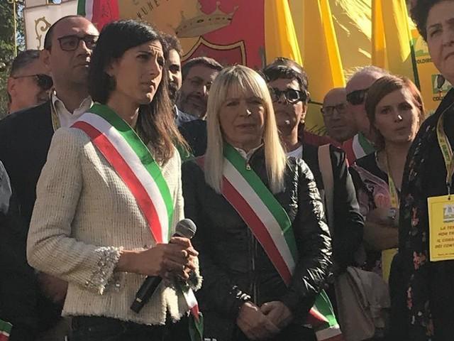 """San Severino, il sindaco Piermattei a Roma per la manifestazione """"La terra non trema"""""""