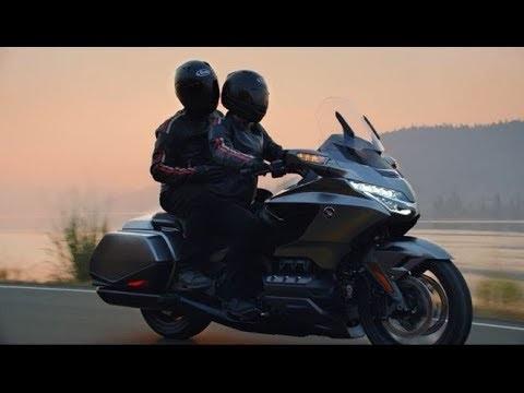 Honda Gold Wing 2018, il video ufficiale