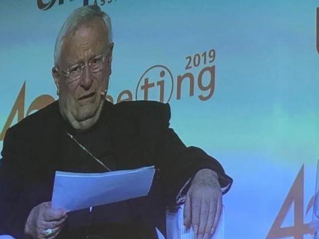 """Rimini, cardinal Bassetti: """"La crisi è di sistema e di visione prima che di governo"""""""