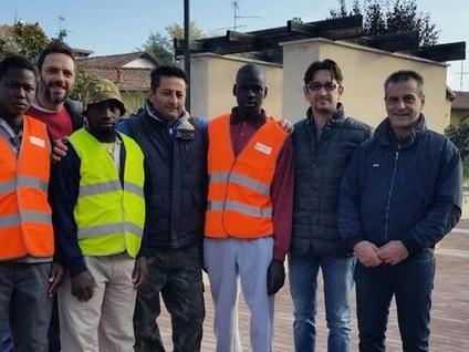 Dieci richiedenti asilo in campo per rendere più bella Cardano