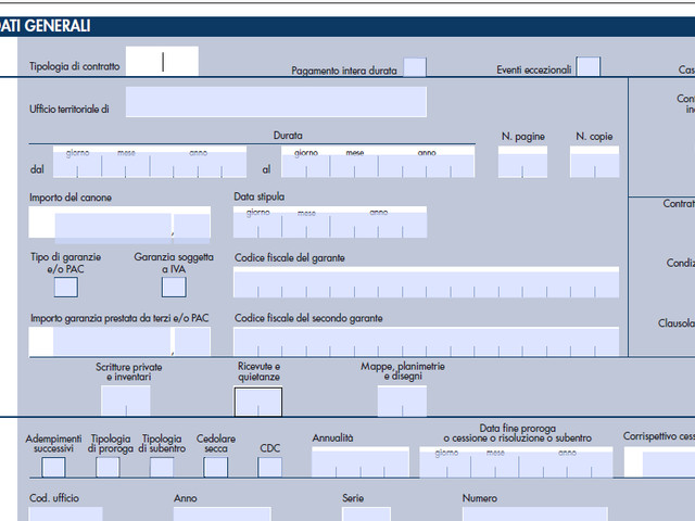 Modello RLI 2020 editabile in pdf