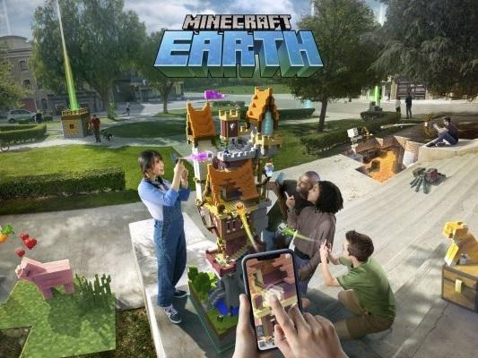 Minecraft Earth: l'accesso anticipato si estende agli USA - Notizia - Android