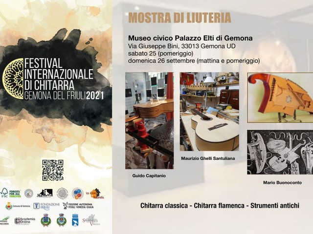 A Gemona del Friuli la Mostra di Liuteria, dal 25 al 26 settembre