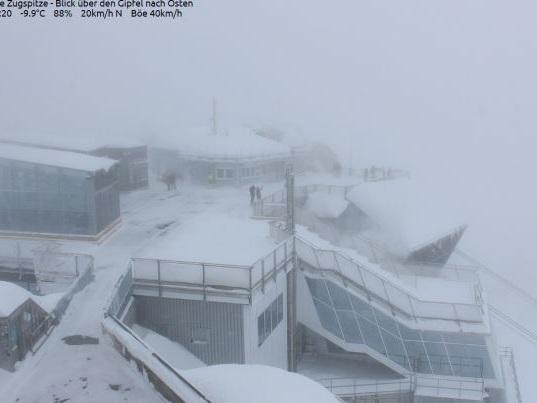 Neve record sulle Alpi della Germania per il mese di Maggio