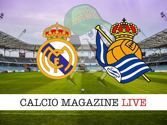 Real Madrid – Real Sociedad: dove vedere la diretta live e risultato