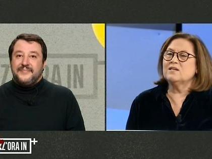 Striscia la Notizia, Lucia Annunziata e il lapsus contro Salvini? Il terribile sospetto di Ezio Greggio
