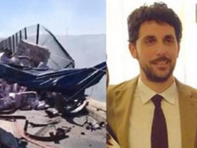Palermo, giovane magistrato perde la vita in un incidente: lascia la moglie e un figlio