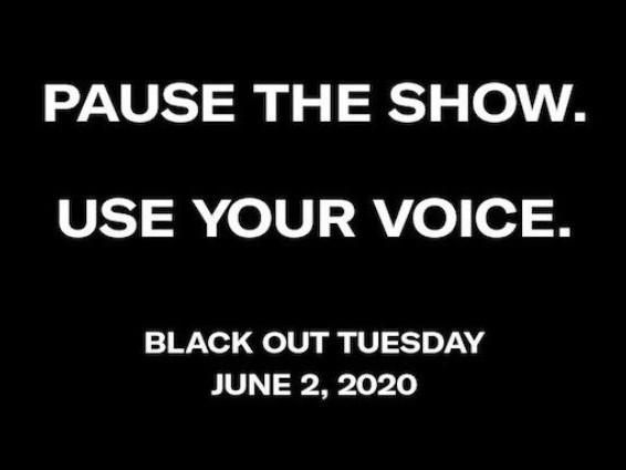 Blackout Tuesday, il mondo della musica si ferma per George Floyd e i profili si tingono di nero