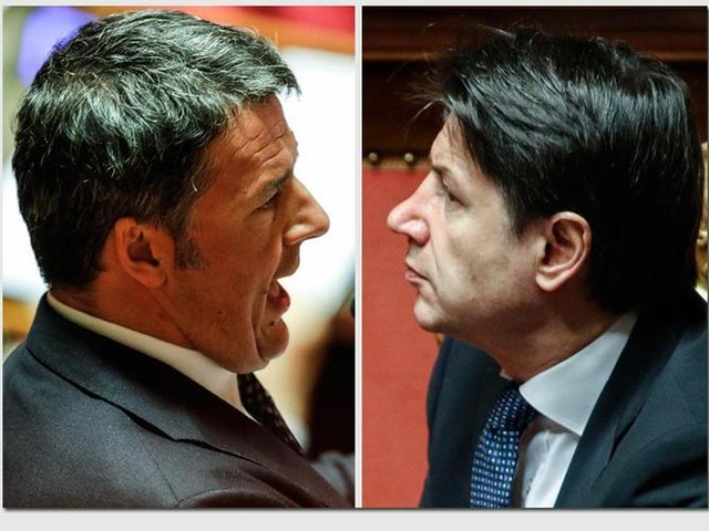 Renzi a Conte: «Elezione diretta del premier e si cancelli il reddito di cittadinanza»