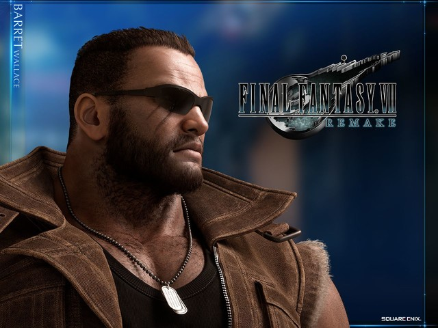 Final Fantasy VII Remake: trailer e wallpaper ufficiali per Barret Wallace!