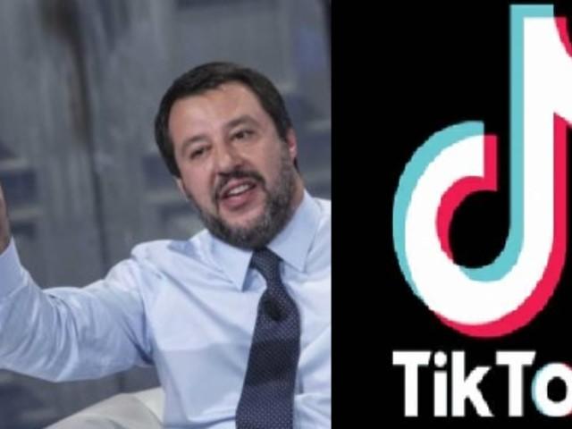"""Matteo Salvini sbarca su TikTok: """"In Italia si arriva con i documenti"""""""