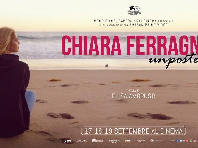 """Chiara Ferragni regina di incassi al cinema, più di 500mila euro in un solo giorno per """"Unposted"""""""