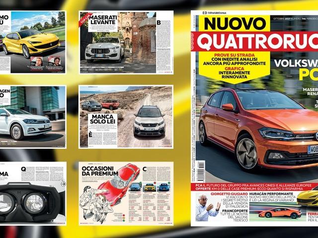#nuovoQuattroruote - Il numero di ottobre è in vendita - VIDEO