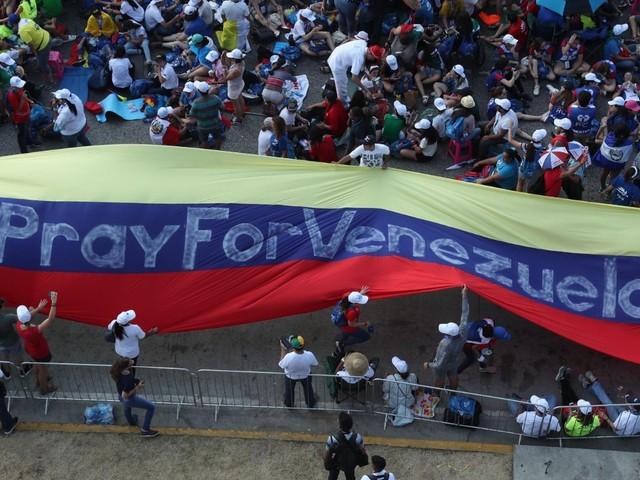 Chiese del Venezuela in preghiera per la pace e la riconciliazione