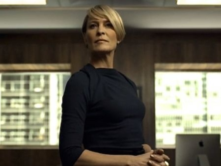 039 House of Cards 039 procede senza Kevin Spacey e scommette su Robin Wright come protagonista assoluta